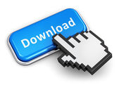 Internet downloading concept — Stock Photo
