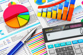 Business, finance and accounting concept — Stockfoto