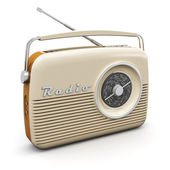 老式收音机 — 图库照片