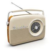 Vintage radio — Stockfoto