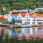 Scenery of Bergen, Norway — Stock Photo