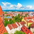 Stock Photo: Aerial panoramof Nuremberg, Germany
