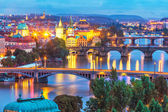 Evening scenery of Prague, Czech Republic — Stock Photo