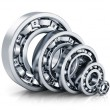 Stock Photo: Ball bearings