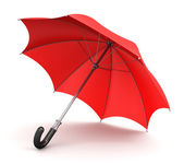 Red umbrella — Stock Photo