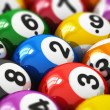 Billiard balls — Stock Photo #40429725