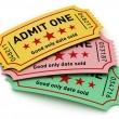 Cinema tickets — Stock Photo #40742267