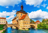 City Hall in Bamberg, Germany — Stock Photo
