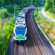 Modern high speed train — Stock Photo #41356863