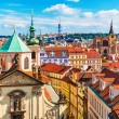 Aerial view of Prague, Czech Republic — Stock Photo #41525215
