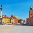 Castle Square in Warsaw, Poland — Stock Photo #4255347