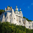 The legendary church on the chalk rock — Stock Photo #4358155