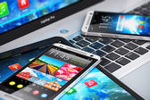 Modern mobile devices — Stock Photo