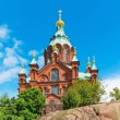 Uspenski Cathedral in Helsinki, Finland — Stock Photo #44754291