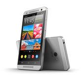 Modern touchscreen smartphones — Stock Photo
