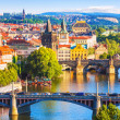 Bridges of Prague, Czech Republic — Stock Photo #49812897