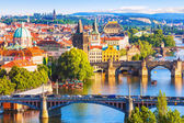 Bridges of Prague, Czech Republic — Foto de Stock