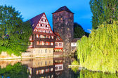 Old Town in Nuremberg, Germany — Stock Photo