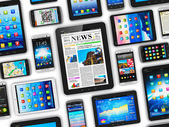 Dispositivos móveis — Foto Stock