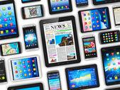Dispositivos móviles — Foto de Stock