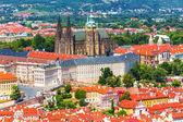 Saint vituskathedraal in praag, tsjechië — Stockfoto