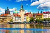 Oude stad in praag, tsjechië — Stok fotoğraf