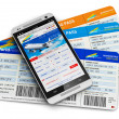Buying air tickets online — Stock Photo #50545037