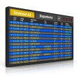Airport departure board — Stock Photo #51000607