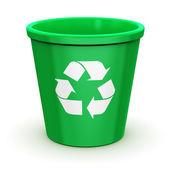 Empty recycle bin — Stock Photo