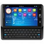 Side slider touchscreen smartphone — Stock Vector #5935724