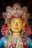 Maitreya Buddha — Stock Photo