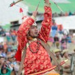 Stock Photo: Dancer on Festival of Ladakh Heritage