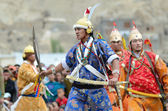 Dancers on Festival of Ladakh Heritage — Stock Photo
