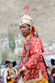 Artist on Festival of Ladakh Heritage — Stock Photo