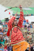 Dancer on Festival of Ladakh Heritage — Stock Photo
