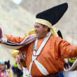 Stock Photo: Artist on Festival of Ladakh Heritage