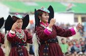 Dancers on Festival of Ladakh Heritage — Stock Photo