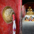 Door in Buddhist temple. — Stock Photo #21600379