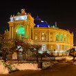 Odessa Opera and Ballet Theater — Stock Photo #21600585
