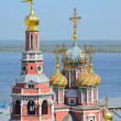 Orthodox church in Nizhny Novgorod — Stock Photo