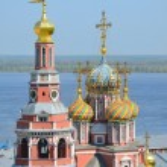 Постер, плакат: Orthodox church in Nizhny Novgorod