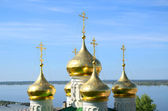 Old russian orthodox church — Stock Photo