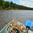 Kayak on the river — Stock Photo #27364743