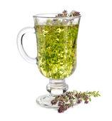 Herbatka z tymianku — Zdjęcie stockowe