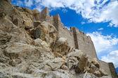 Parede de pedra antiga — Foto Stock