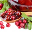Cowberry jelly — Stock Photo #31567799