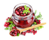 Berry jelly — Stock Photo