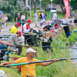 Fishing competition — Stock Photo
