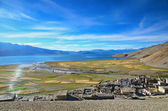 Tibetan village — Stock Photo