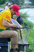钓鱼比赛 — 图库照片